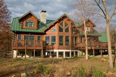 log house lakeview 04249 katahdin cedar log homes