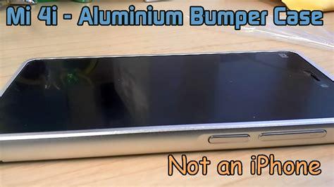 Bumper Xiaomi Mi 4i xiaomi mi 4i aluminium metal frame bumper