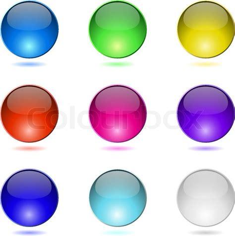 button color html color buttons stock vector colourbox