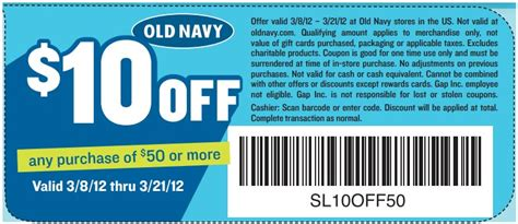 old navy coupons phone old navy 10 off 50 printable coupon