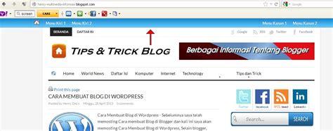 cara membuat daftar menu di blog wordpress cara membuat navigasi wordpress cara membuat menu melayang
