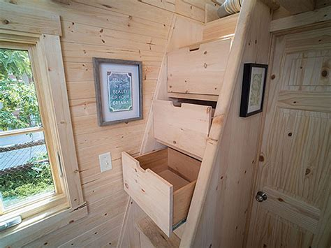 Gorgeous 172 Square Foot Tiny House With Great Use Of