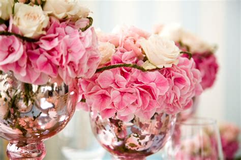 pink flower centerpieces for weddings wedding detail pink wedding flower centerpieces