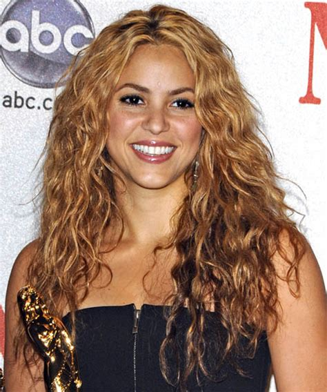 Shakira Hairstyle by Shakira Curly Casual Hairstyle