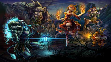 Fondo De Pantalla Death Prophet Dota 2 Hd dota 2 heroes spirit breaker lina enchantress sniper and
