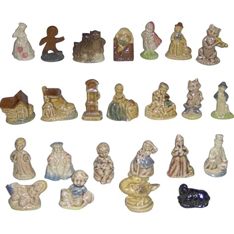 set of 24 wade nursery rhymes figurines sold on ruby lane