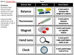 science tools matching by that s so elementary tpt