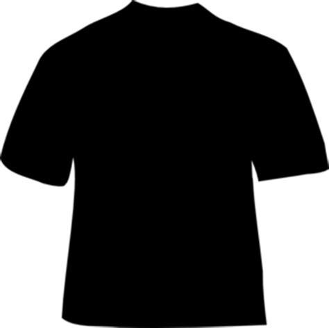 plain black shirt template black plain t shirt clip at clker vector clip