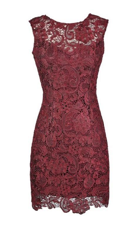 burgundy lace dress red lace dress cute lace dress cute