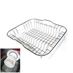 Kitchen Sink Dish Drying Racks Stainless Steel Dish Drying Rack Sink Drainer Plate Storage Holder Kitchen Rack Ebay