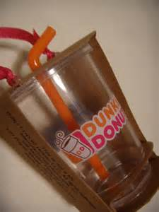 never turn down a cupcake dunkin donuts iced coffee ornament