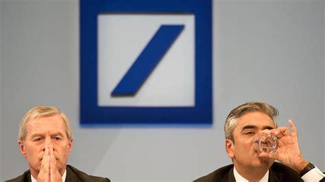deutsche bank wolfsburg deutsche bank chef staatsanwaltschaft ermittelt gegen