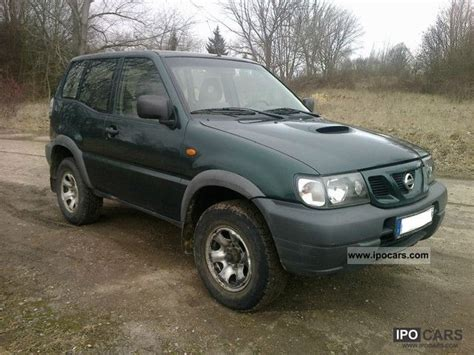 2003 nissan terrano ii diesel four wheel car photo and specs