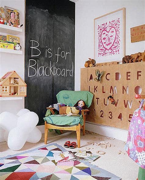 Chalkboard Madness In The Home Organization Blackboard For Room