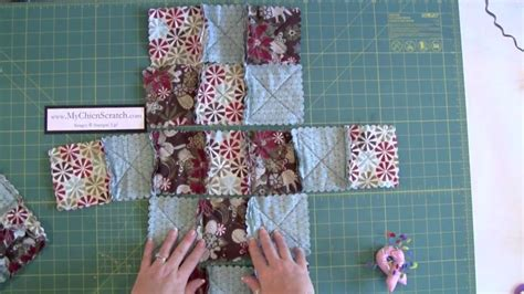 How To Make A Quilt Tote Bag by Raq Quilt Purse Part One Add On