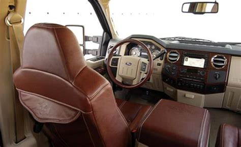 King Ranch F250 Interior by Car And Driver
