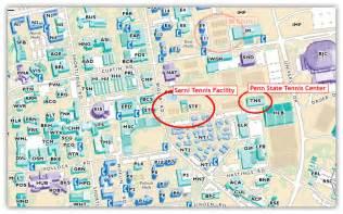 Penn State University Campus Map by Sarni Tennis Facility Amp Penn State Tennis Center Tennis Club