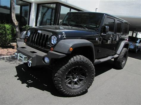 Used Jeep Wrangler For Sale In Az Used 2009 Jeep Wrangler Unlimited X Sport Utility In