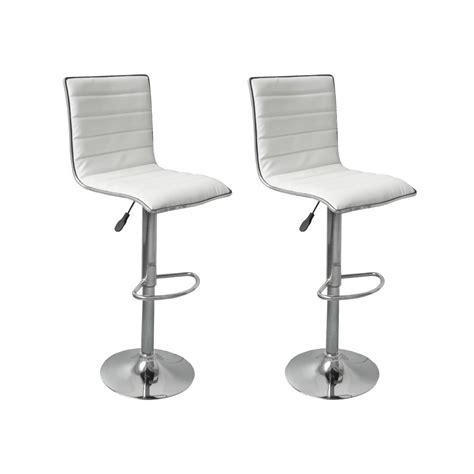 sgabelli bianchi articoli per sgabelli sedie cucina o bar oslo eco pelle 2