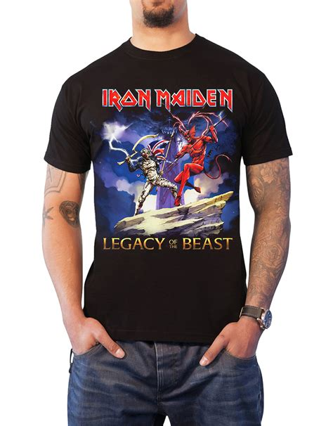 Iron Maiden European Tour Tees iron maiden t shirt official book of souls trooper killers