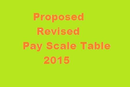 government employees new revised pay scale 2015 bps budget 2015 16 proposed revised pay scale chart 2015 grade 1 22