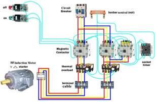 wiring dol starter motor delta elec eng world