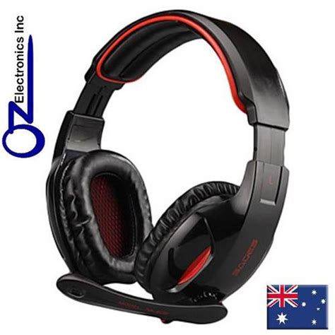Headset Sades Sa 902 sades sa 902 7 1 sound effect stereo pc gaming headset