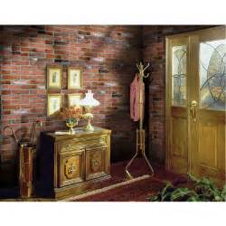 interior walls home depot 1 4 in x 48 in x 96 in kingston brick wall panel 278844
