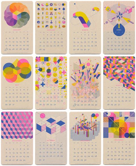 calendar design ideas 2015 10 killer 2016 calendar designs columnm