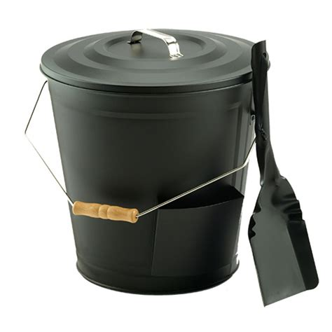 Vogelzang Ash Bucket and Shovel Kit
