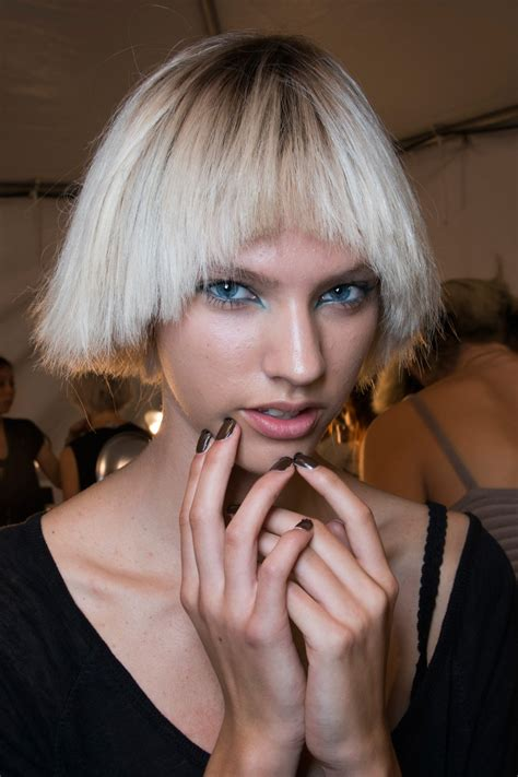 marc jacobs haircuts choppy bobs at marc jacobs best spring 2014 runway