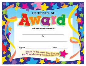 Free Templates For Awards by School Certificate Templates Award Printable Free