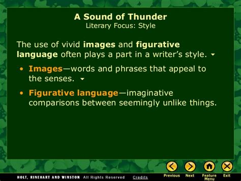 A Sound Of Thunder Essay by Sound Of Thunder Literary Analysis