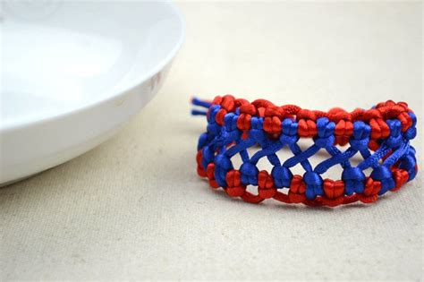 Handmade Bracelet Patterns - handmade fashion jewelry bicolor woven hemp bracelet