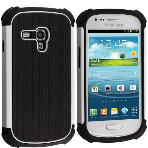 Hardcase Samsung Galaxy S3 Mini for samsung galaxy s3 mini hybrid rugged matte soft shockproof cover ebay