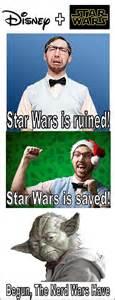 Star Wars Nerd Meme - 15 best star wars disney merger memes