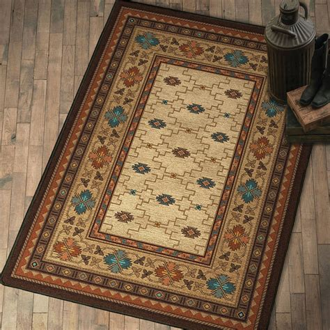 rugs for rustic decor rustic elegance rug collection