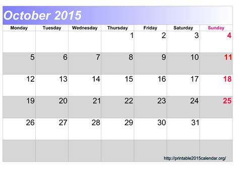 printable calendar 2015 october november december 8 best images of december 2015 calendar printable october
