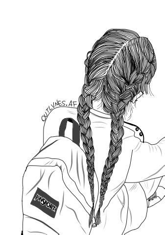 25+ best ideas about braid drawing on pinterest   drawing