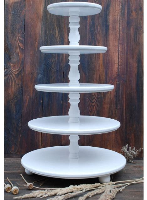 Exclusive 5 Tier Cupcake Stand 5 Tingkat Cupcake Stand Termurah wedding 5 tier cake stand cupcake stand wooden white wedding cupcake stand custom cupcake stand
