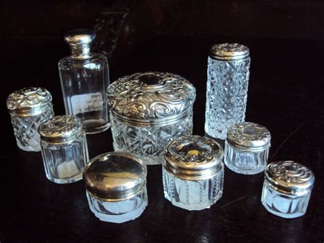 Vanity Jars by 544 Best Images About Antique Dresser Jars Mirrors Combs