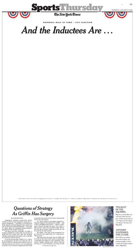new york times sports section new york times uses blank cover page to commemorate lack