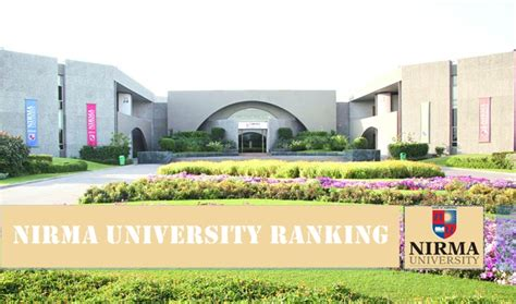 Nirma Mba Ranking institute of management nirma ahmedabad