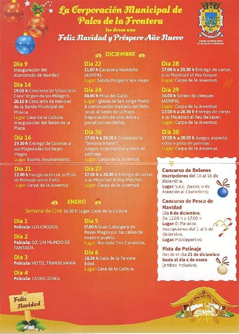 holamormon actividades y representaciones navidenas palos y aempa organizan una quincena de actividades en navidad