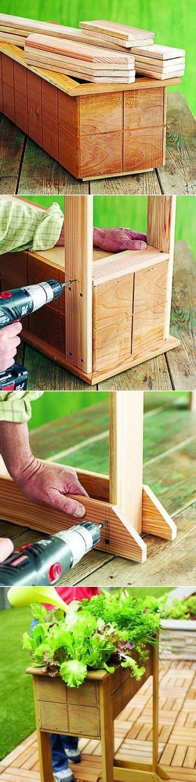 How To Build A Planter Box With Legs by How To Build A Planter Box With Legs Woodworking