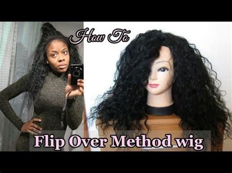 no part flip over method wig tutorial aliexpress no part flip over method wig tutorial by jennykey