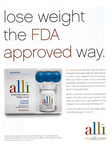 Alli Diet Pill Approved By Fda by The Fda Gives Gsk A New Way To Tout Alli Cbs News