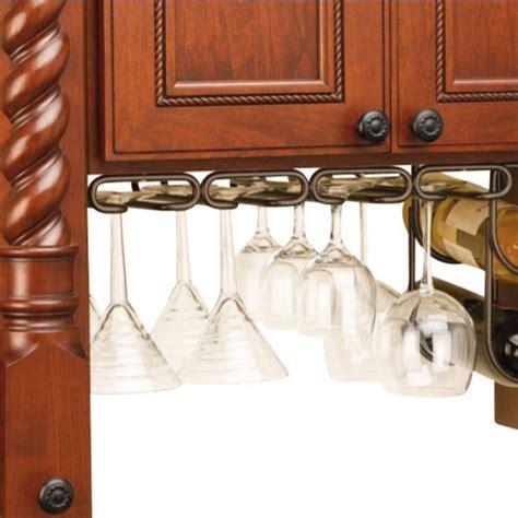 under cabinet wine racks rev a shelf 3450 11orb 11 quot quad under cabinet stemware