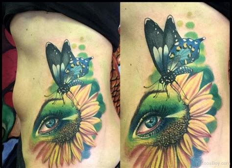 butterfly and sunflower tattoo designs butterfly and sunflower designs