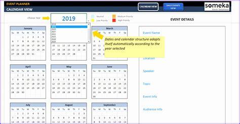 excel calendar blank printable template word excel free number